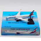 Aviation 1400 Aeroflot Airlines Airbus A350 900 Diecast Aircraft Model VQ BFY