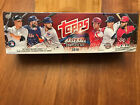 2018 Topps Baseball HOBBY Complete FACTORY SEALED Set w 5x Foilboard Acuna RC +