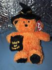 New Ty Beanie Baby Witchy Halloween Bear Mint-2006