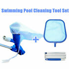 Pool Cleaning Kit Vacuum Cleaner Above Ground Inground Pool with 5 Section Pole