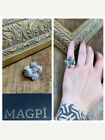 MEXICAN STERLING Dogwood Flower Vintage Ring
