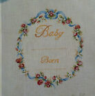 Rishfield Birth Announcment Handpaint Needlepoint Canvas