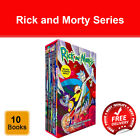 Rick and Morty The Graphic Novel Collection Vols.1 - 10 Books Collection Box Set