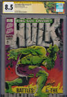 INCREDIBLE HULK KING SIZE ANNUAL 1 CGC 85 SS SIGNED JIM STERANKO COVER SPECIAL