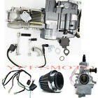 150CC LIFAN Motor Engine +Wire+Carby For XR50 CRF50 Pit SDG SSR Dirt Trail Bike