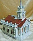 Lemax Christmas Village Lighted Porcelain CHURCH EUC  Dickensvale-1994