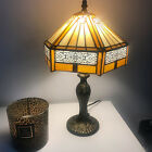Tiffany style Stained Glass Lamp Shade Dragonfly Beautiful Hand Crafted lighting