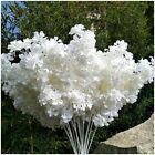 10x100cm Artificial Cherry Blossom Flowers Silk Sakura Branches for Wedding