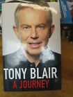 A JOURNEY TONY BLAIR British Prime Minister Signed 1st Edition 1st Printing Book