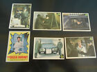 5 Green Hornet Cards And 1 Sticker # 6, 20, 21, 22, 33 And # 4 Sticker