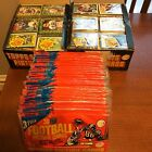 1984 TOPPS FOOTBALL RACK BOX WITH 24 UNOPEN PACKS AUTH BY THE BBCE