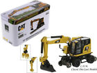 Caterpillar M323F Railroad Excavator Yellow HO 1 87 Scale Diecast Masters 85612