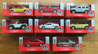 Welly Nex diecast cars metal scale model opening doors pull back lot of 8 new