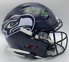 Seattle Seahawks Signed Russell Wilson Speedflex With SB XLVIII CHAMPS Ins