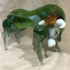 VINTAGE MURANO GLASS BULL MEASURES APPROX 5 1 2 X 8 EXC COND