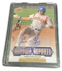 2011 Upper Deck WORLD OF SPORTS Christian Yelich RC Autograph