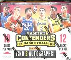2017-18 Panini Contenders Basketball Sealed Hobby Box