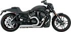 Vance  Hines 751134 Harley Davidson Competition Series 2 Into 1 Exhaust Chrome