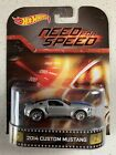 Hot Wheels 2014 Retro Entertainment Need For Speed Custom Mustang Silver Color