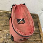 Vintage Cannondale Rear Rack Bag Red pack pannier Reflector Made in USA S1