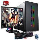 AMD Ryzen 3 3200G Quad Core Volcano Gaming PC Computer Bundle DDR4 1TB up402