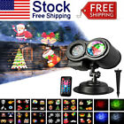 Pattern and Water Wave Dual Tubes LED Projector Lights 12 Slides for Christmas