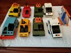 Vintage Matchbox Lesney MAC mobile action command Vehicles Lot of 9