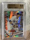 Cody Bellinger 2017 Topps Chrome Prism Refractor Rookie Card BGS 9.5 (=PSA 10)