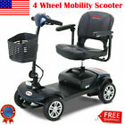 Metro Mobility Compact Travel Mobility Scooter Elderly Electric Powered 4 Wheel
