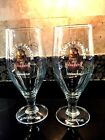 UNIBROUE 16OZ NW PR OF A TOUT LE MONDE MEGA DETH TULIP SHAPED SIGNED GLASSES FS