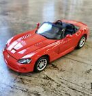 Welly 2003 Dodge Viper SRT 10 Diecast Car 124 Red Collectible