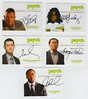2013 Cryptozoic Psych Seasons 1-4 Autographs Don't Mess with Your Head 22