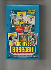 2018 Topps Archives Baseball Hobby Box Factory Sealed 2 On-Card Autos per Box