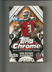 2015 Topps Chrome Football Factory Sealed Hobby Box 1 Rookie Autograph Per Box