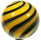 Hot House Glass Dichroic banded swirl marble 120 31mm 49