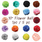 10 Kissing Flower Ball Wedding Silk Rose Party Pomander Party decoration