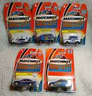 Lot Of 5 Matchbox Hero City Police Cars Patrol PD Crime Capper Armored BMW 328i
