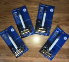 Set Of 4 GE Holiday Classics 85 LED Flickering Window Candle Light NEW