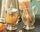 Astoria Creamer  Sugar Lidded Jar with Spoon Set Southern Living 41016  41017