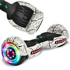 NHT Spider Series Electric 65 Self Balancing Scoote w LED and Wireless Speaker