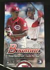 2018 Bowman Baseball Unopened Factory Sealed Jumbo Hobby Box 12 Packs 3 Autos