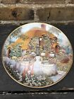 Lilliput Lane Wishing Well Cottage Limited Edition Plate