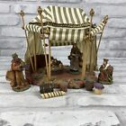 O Holy Night 3 Kings Tent Nativity Scene Christmas KMart Trim A Home W Access