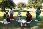 Rare David Hamberger Displays Animated Mechanical Outdoor Nativity Set Of 6