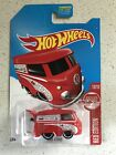 Hot Wheels 2017 Target Exclusive Kool Kombi Red Color