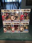Lot Of 6 Funko Pop Marvel Avengers Infinity War Exclusives With Protectors