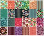 OOP 24 F Q bundle Amy Butler Bright Heart collection 100 cotton fabric
