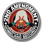 2nd Amendment Yosemity Sam Vinyl Sticker Decal Gun Rights Nra Truck Car Usa