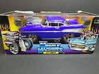 Muscle Machines 57 Chevy 118 Blue Limited Edition Funline NIB