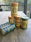 lot of Edison Gold Moulded and Columbia wax cylinders in boxes and 2 empty boxes